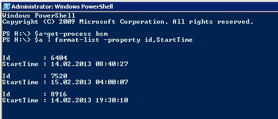 how to stop w3wp.exe process